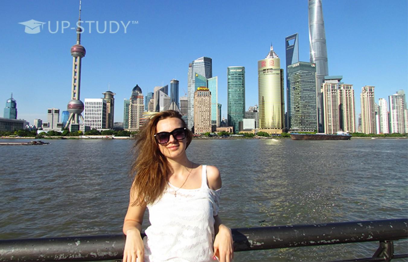 Поїздка студентки від UP-STUDY на навчання у Китай по обміну