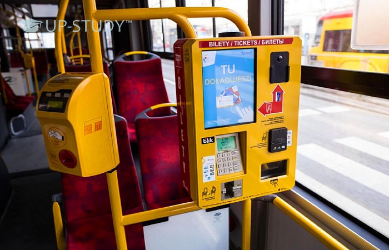 Польські квиткові автомати з українським меню?