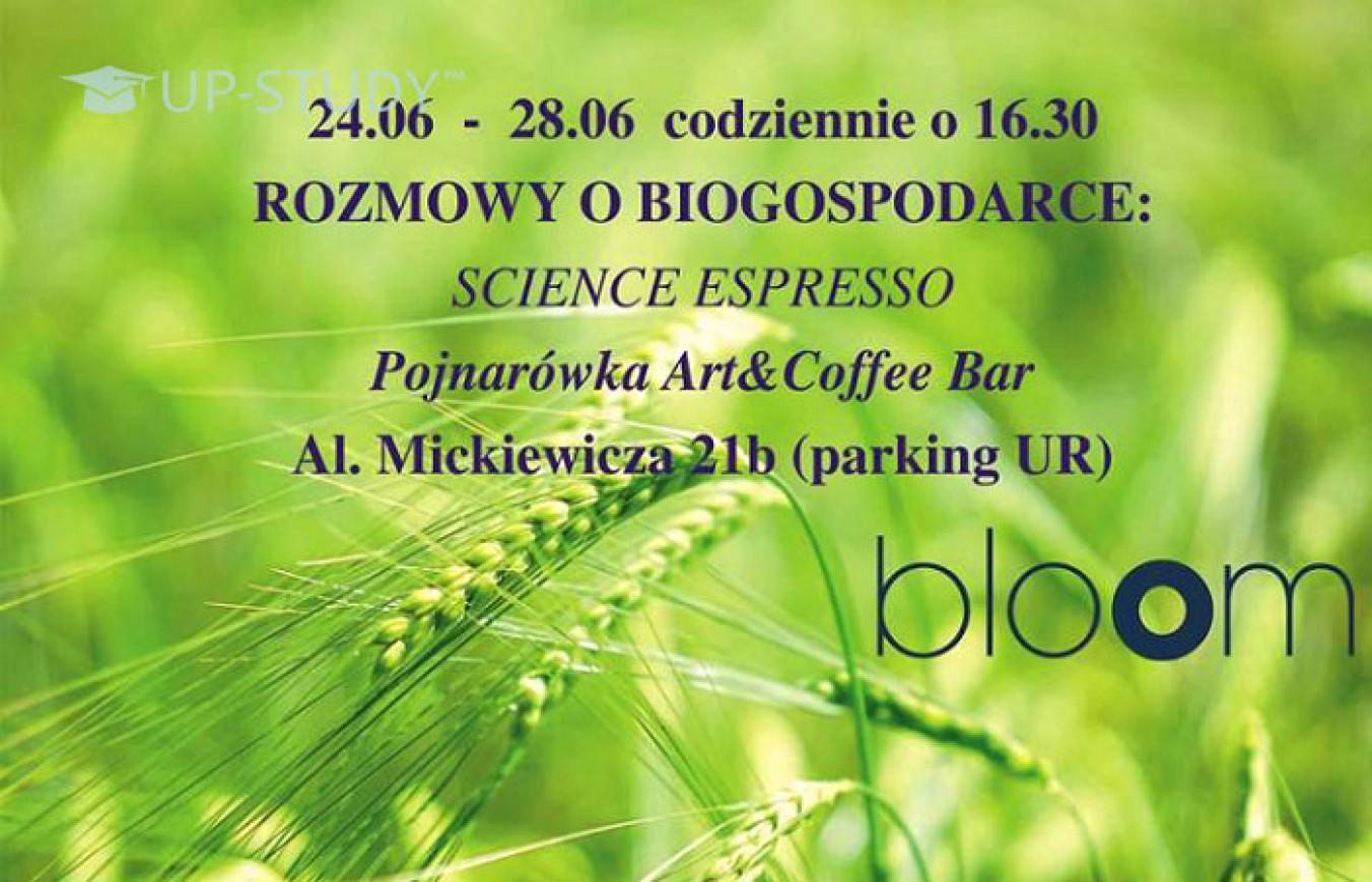 Тиждень біоекономіки у Кракові — серія бесід «Science Espresso»