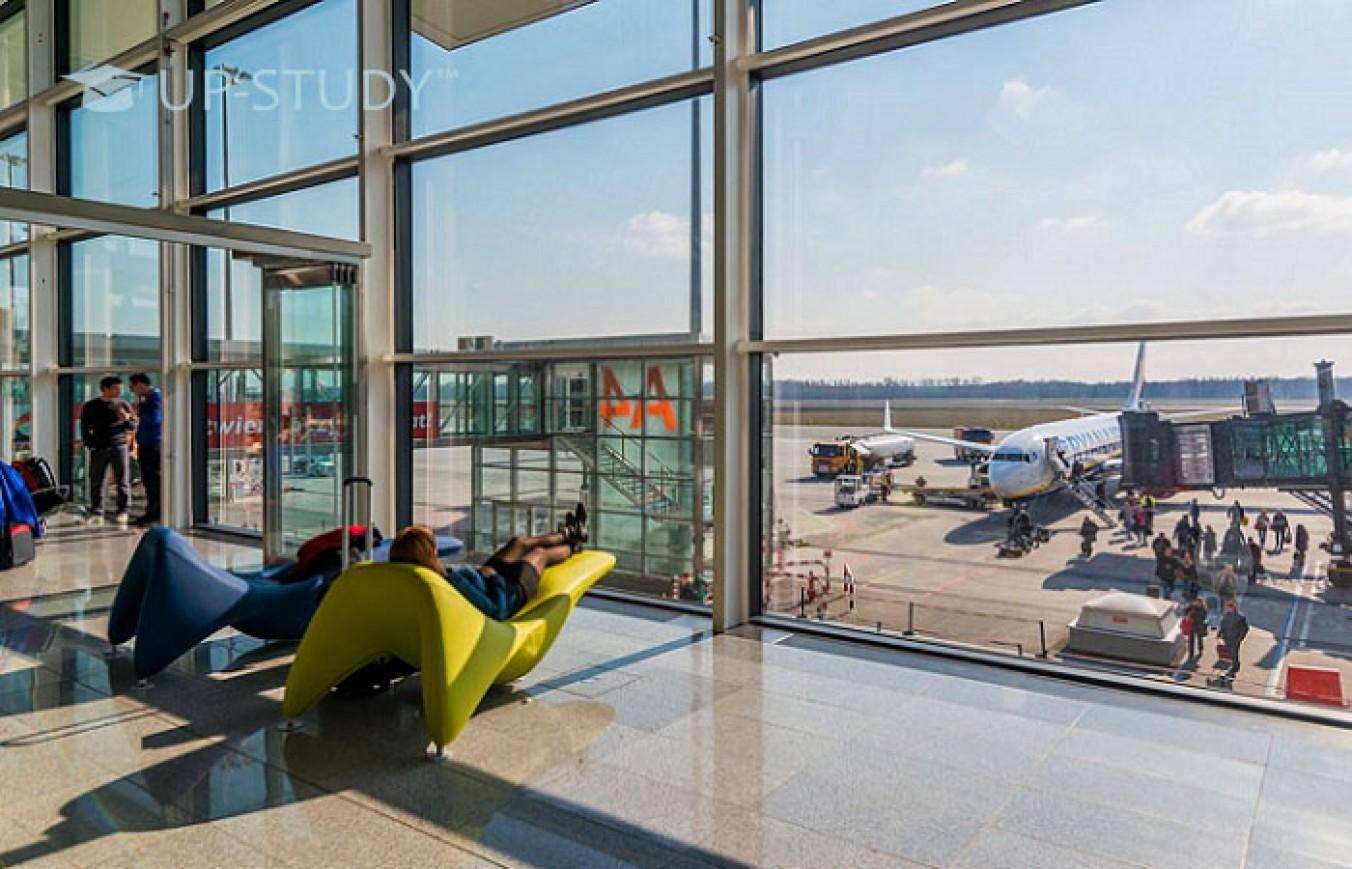 Подорожі повітрям з Польщі до європейських країн