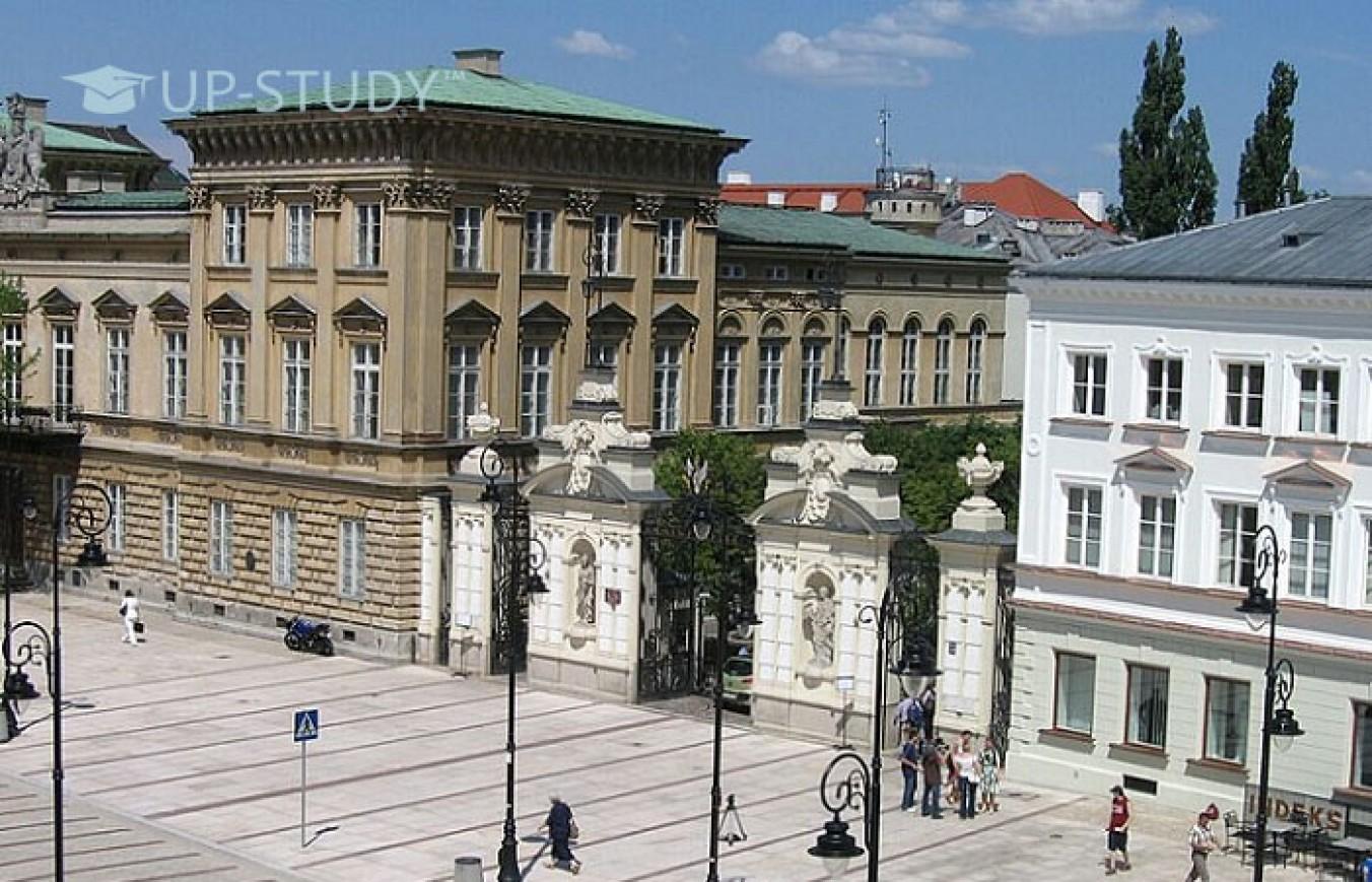 Навчання у Варшавському університеті. Факультети та вартість