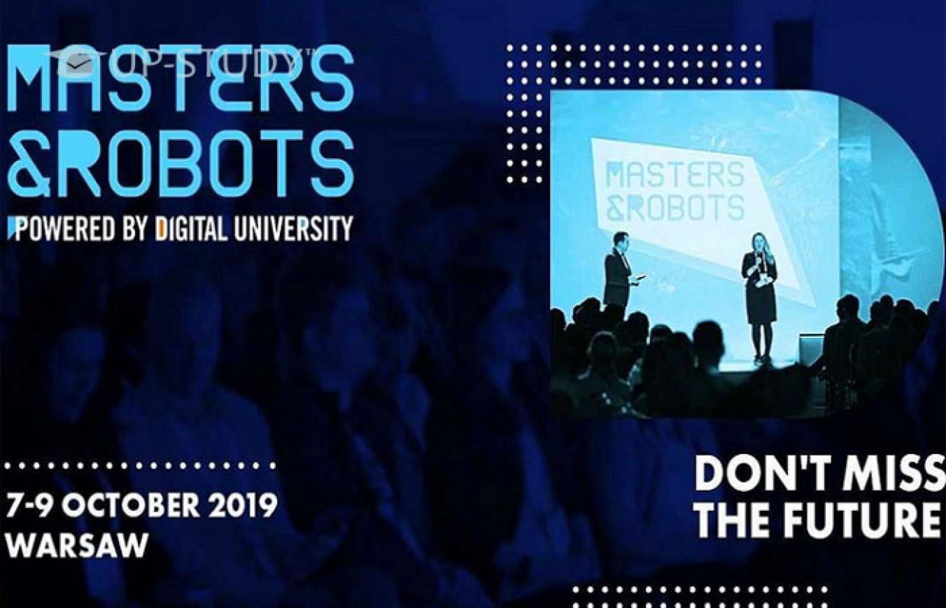 Masters&Robots 2019 — інформація про конференцію