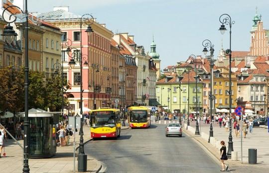 Громадський транспорт у Польщі