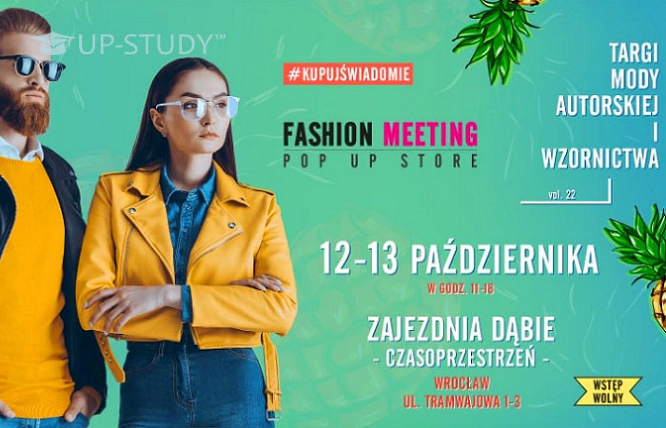 Найбільший авторський ярмарок моди — Fashion Meeting 12 і 13 жовтня у Вроцлаві