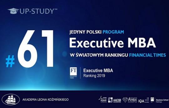 Навчання EMBA в Університеті Козмінського було високо оцінено у рейтингу Financial Times
