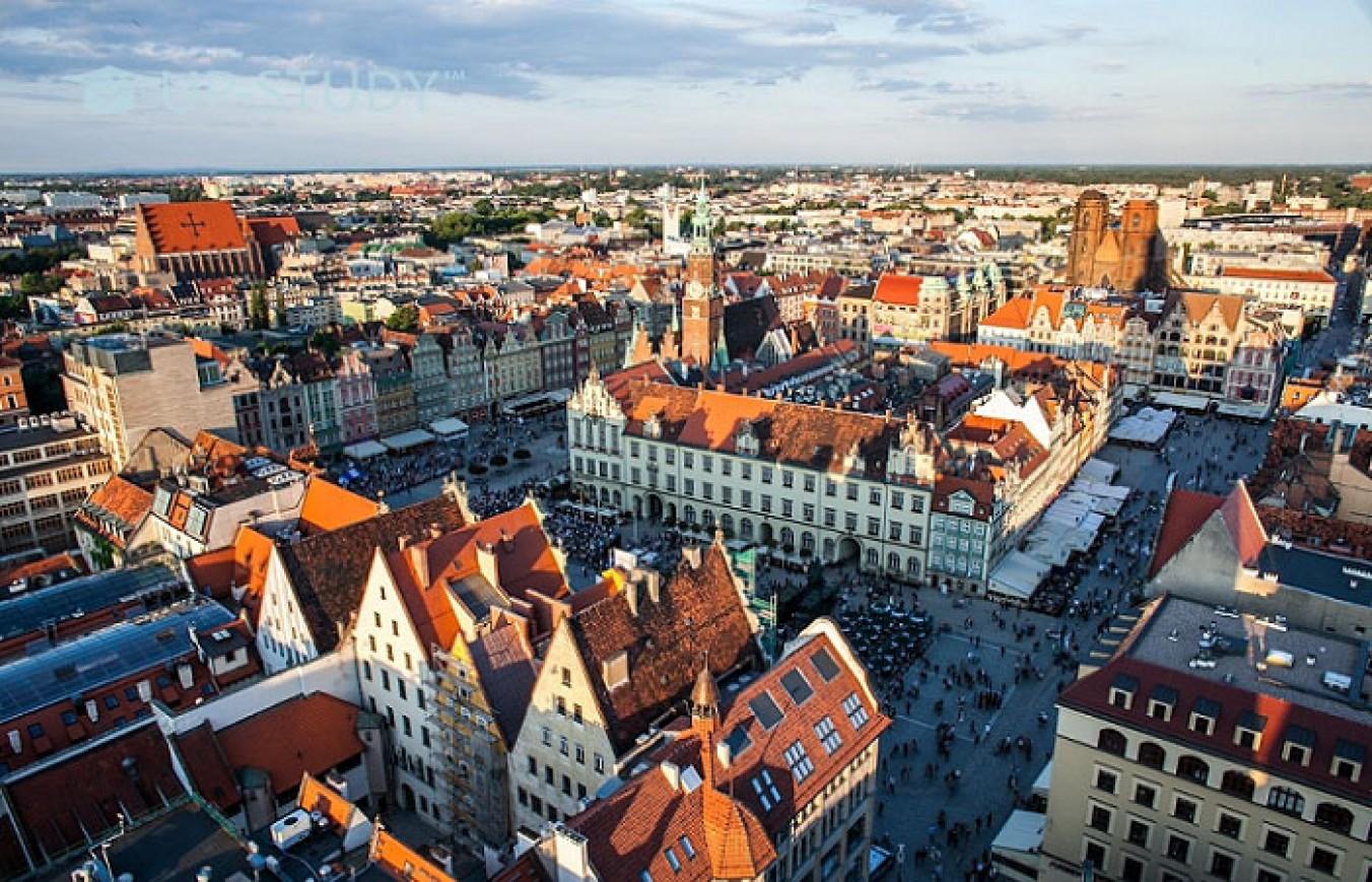 Вроцлав — столиця Силезії та місто студентів