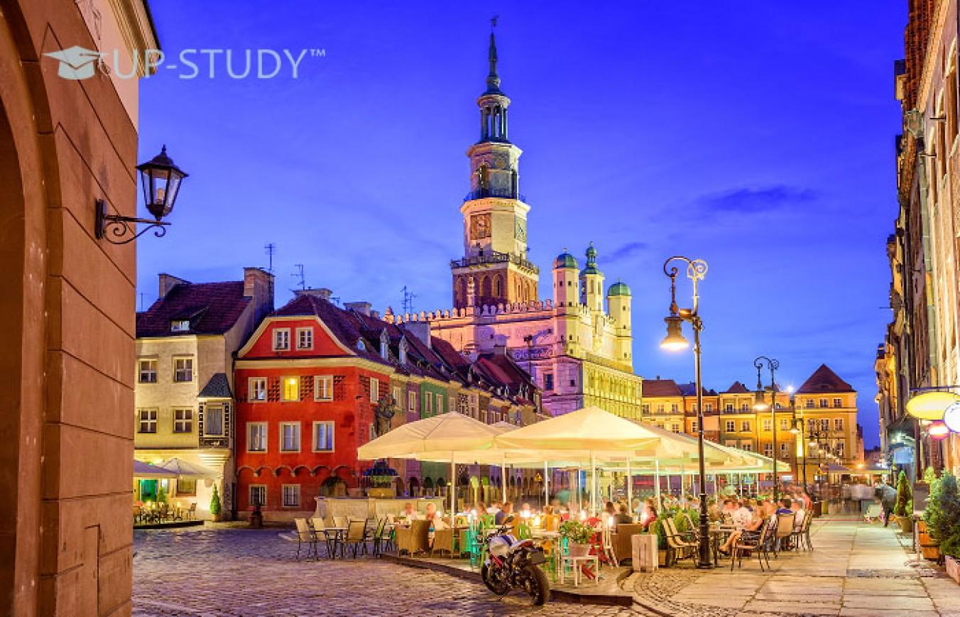 Отримання вищої освіти в Познані. Огляд міста