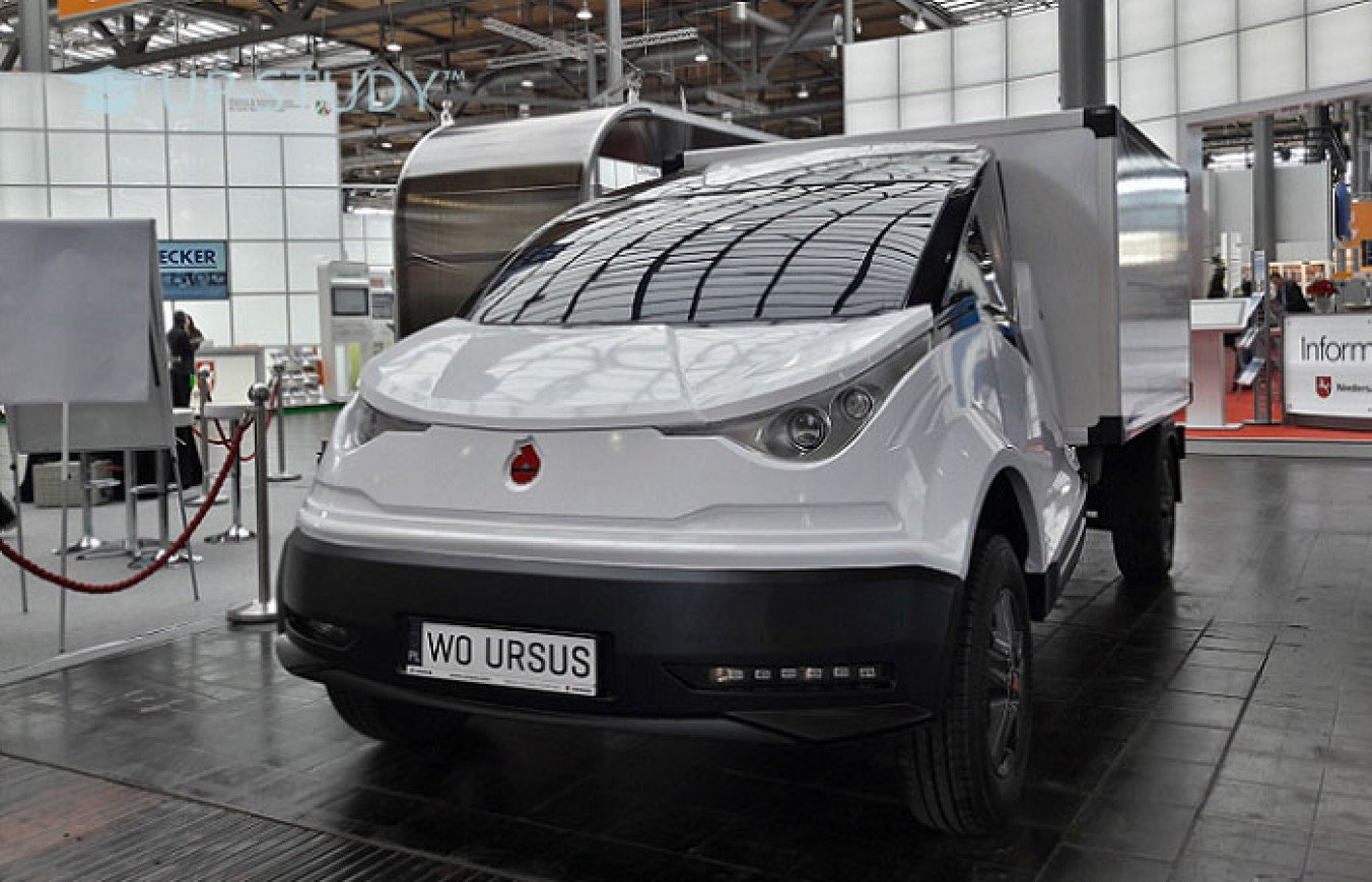Вихід нового електронного автомобіля Ursus на польський ринок