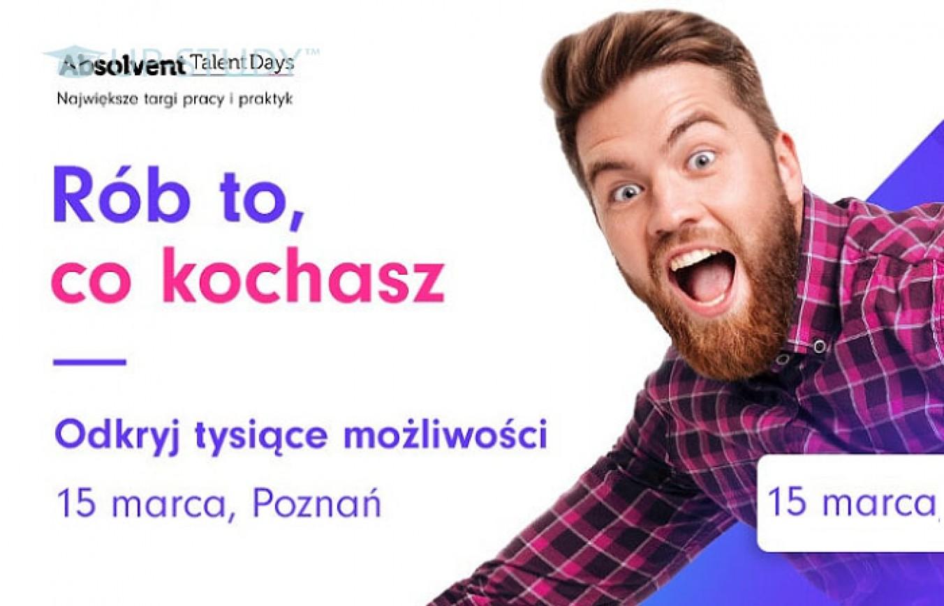 Absolvent Talent Days в Познані — ярмарки праці, практик та стажувань