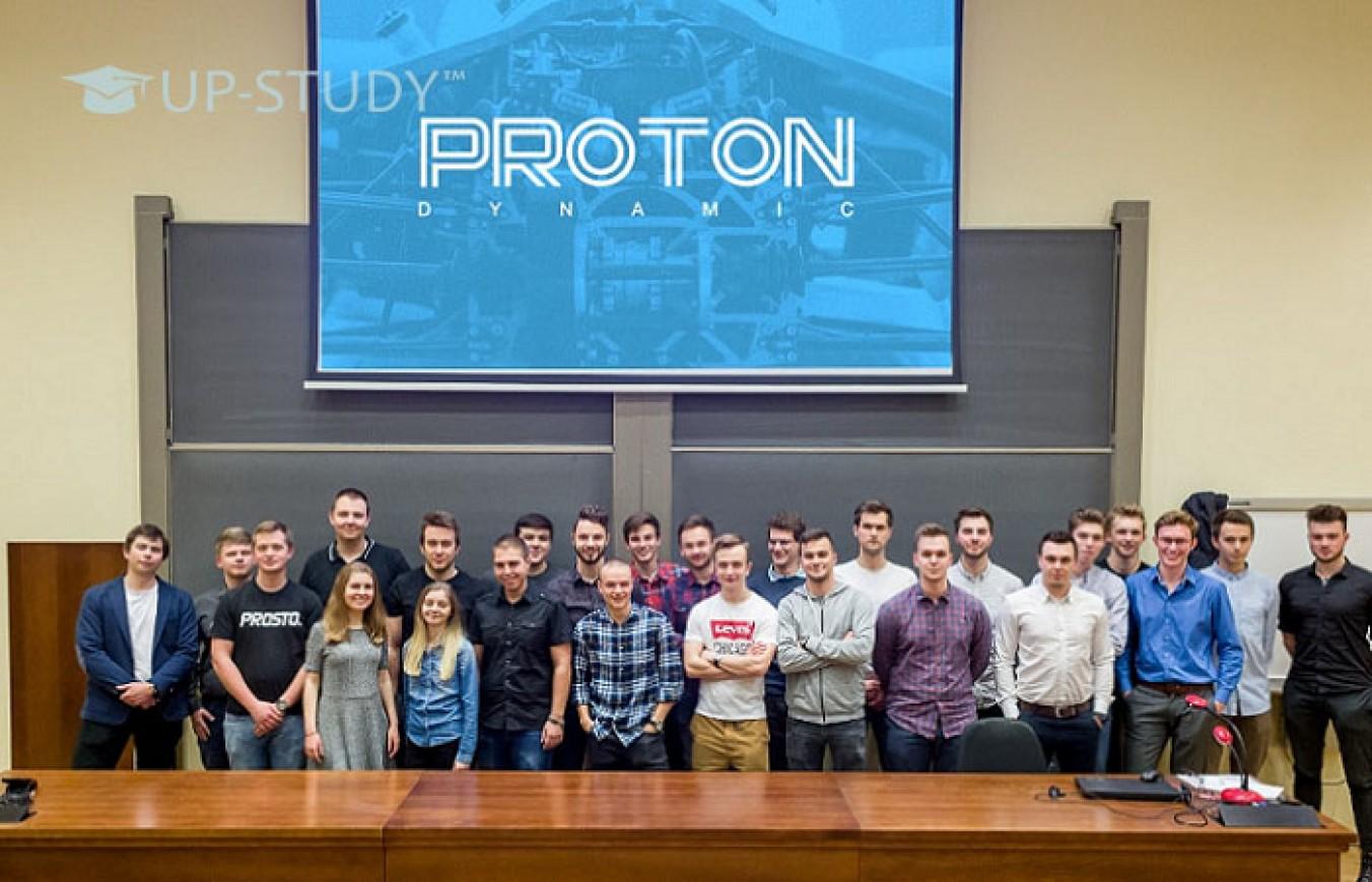 Зустріч з Team Proton Dynamic у Варшавській школі економіки!