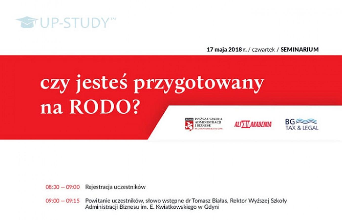«Ви готові до RODO?» — семінар в WSAiB