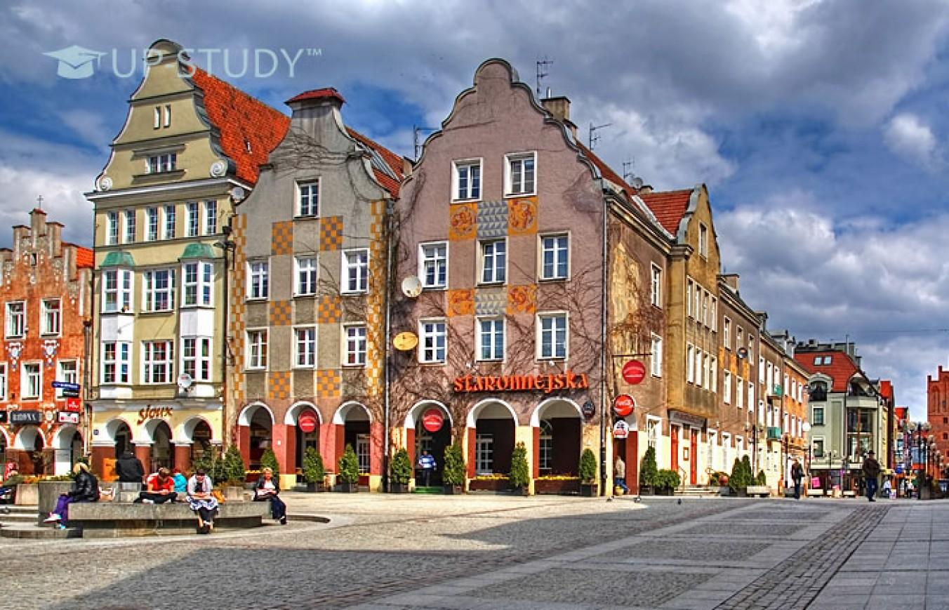 Огляд польського міста Ольштин. Що подивитися?