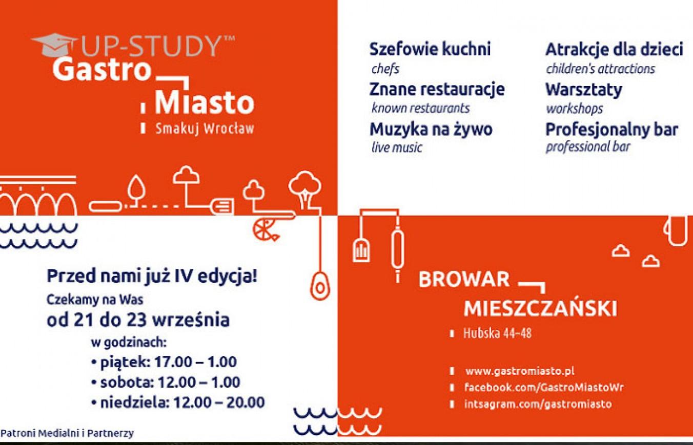 6-й випуск Gastro Miasta у Вроцлаві вже визирає з-за рогу
