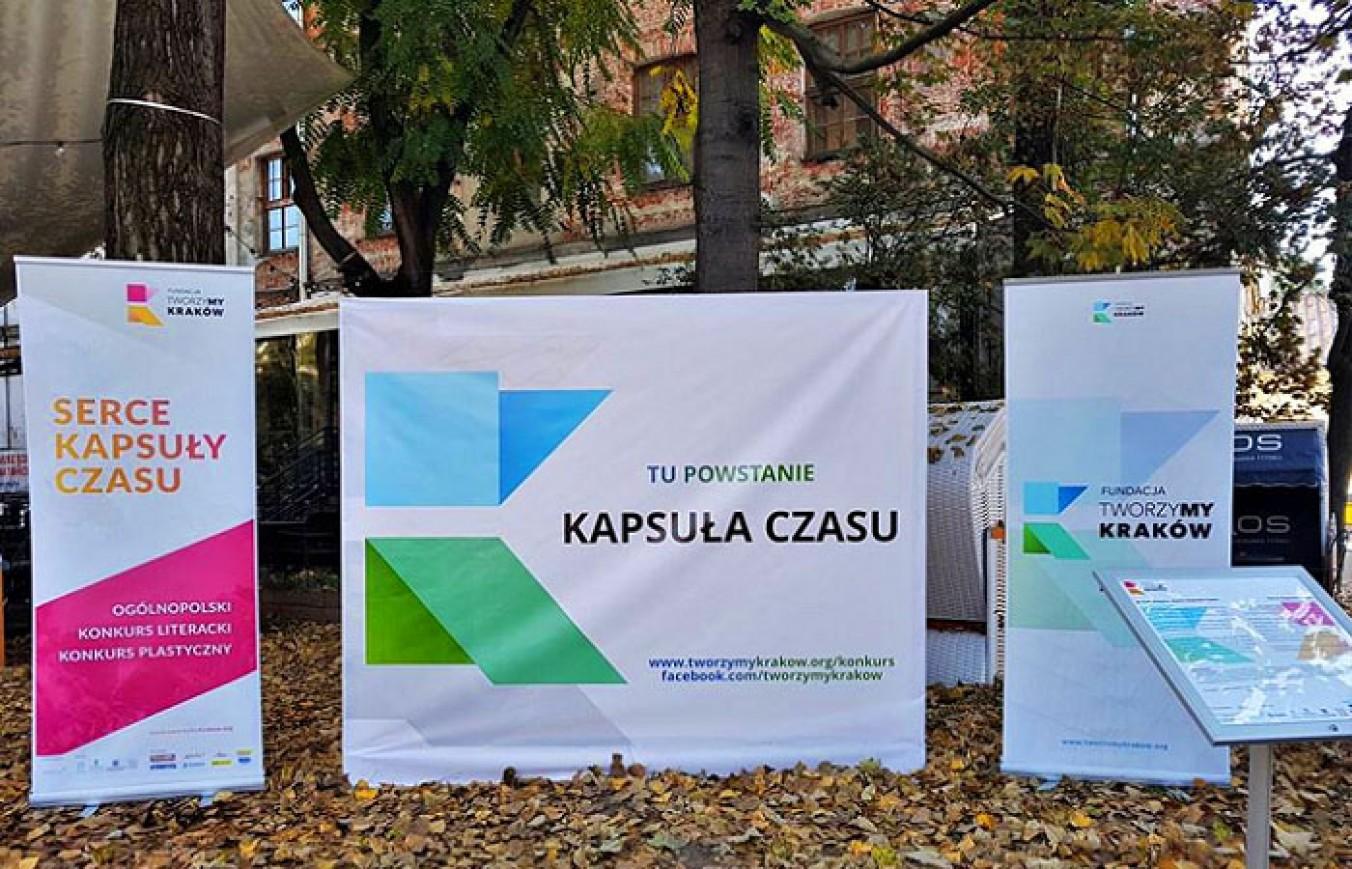 Fundacja TworzyMY Краків показав, де буде проходити конкурс Capsule of Time