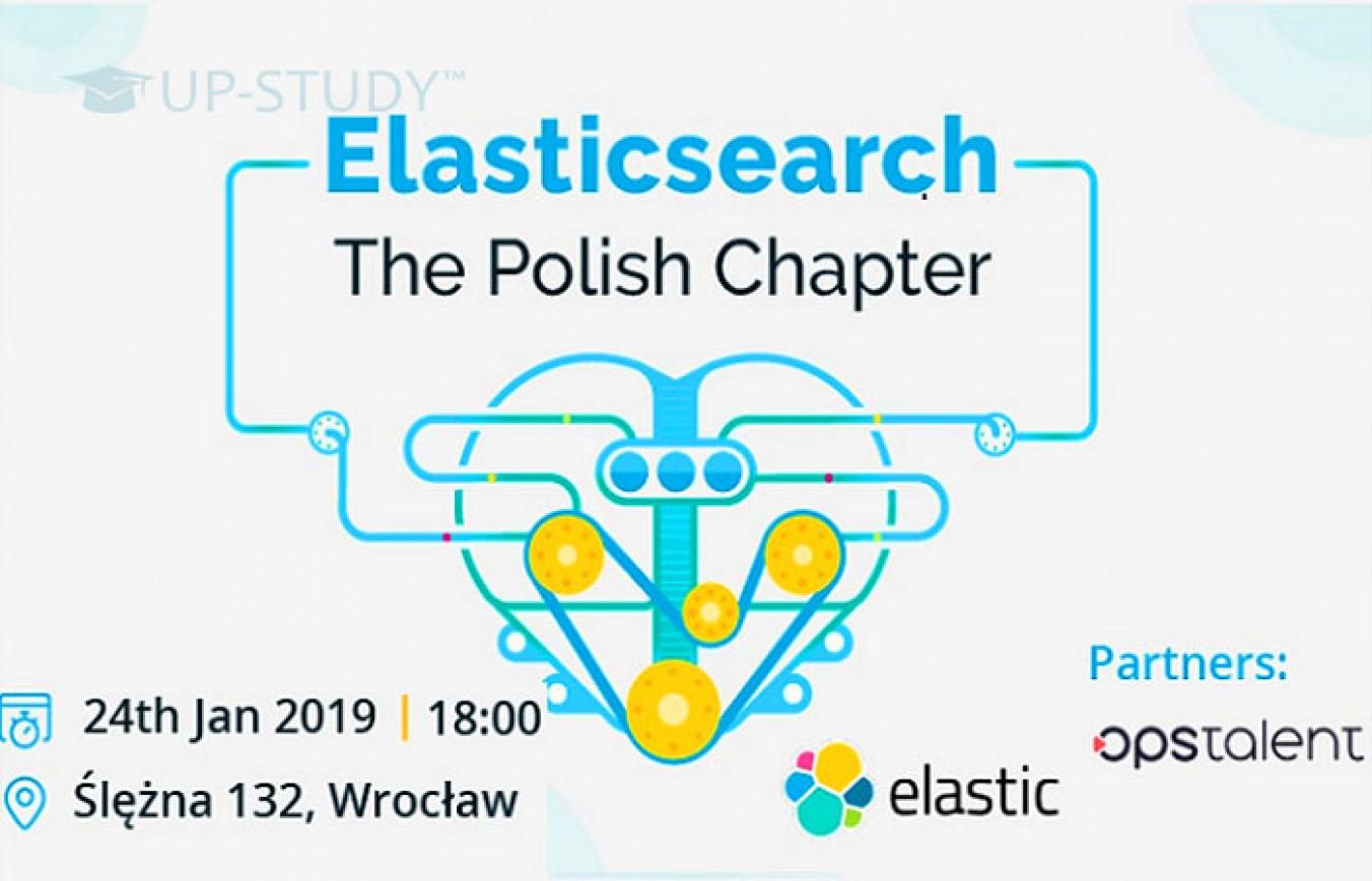 Elasticsearch: The Polish Chapter — дивимося програму заходу!