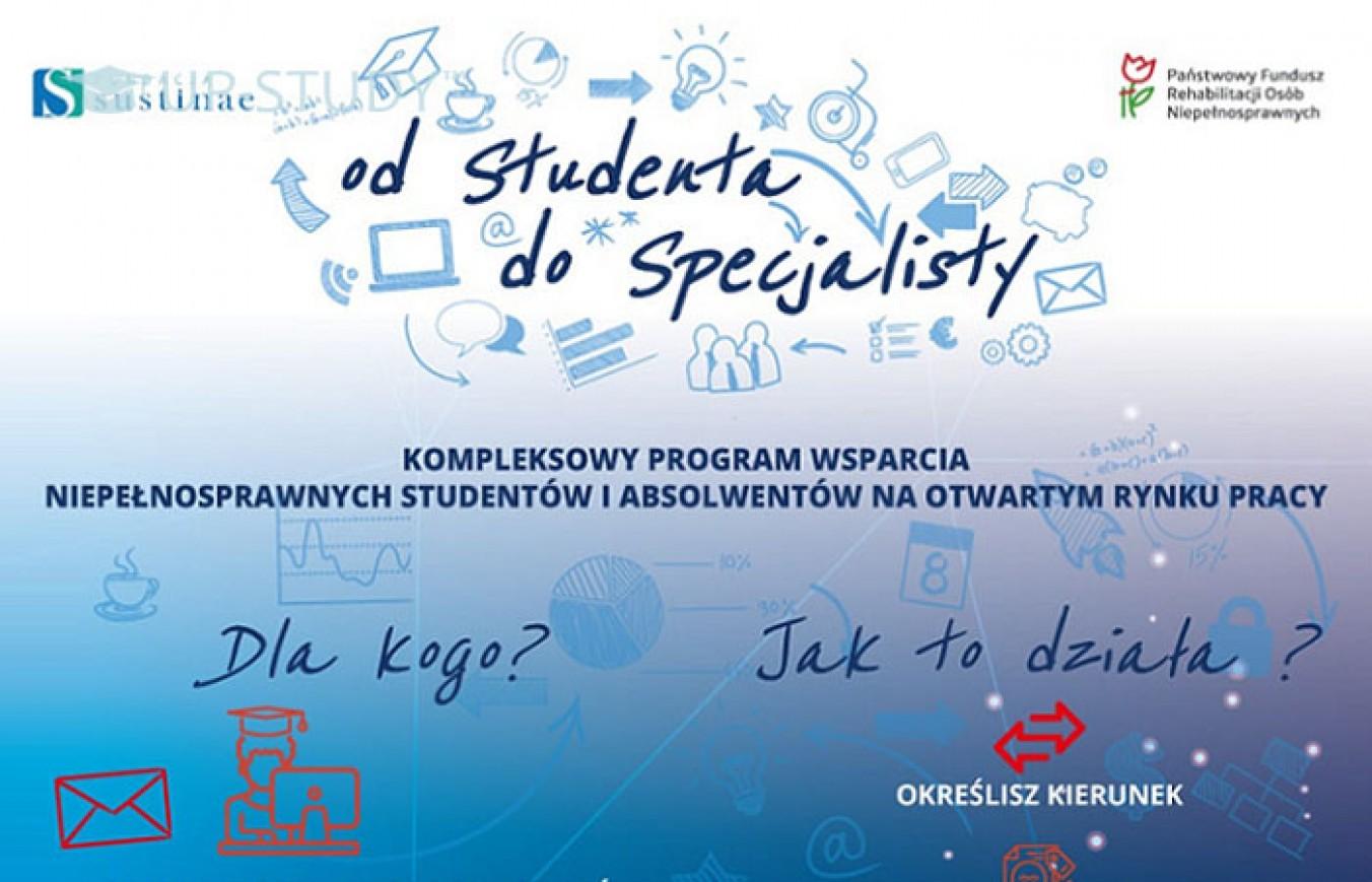 Від студента до фахівця — програма підтримки студентів-інвалідів у Польщі